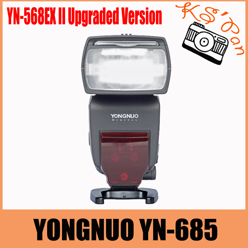 YONGNUO YN685 YN-685 Wireless HSS TTL Speedlite Flash Build in Receiver Worked with YN622C YN560 YN560-TX RF605 RF603II yongnuo yn622c ii hss e ttl flash trigger for canon camera compatible with yn622c yn560 tx rf 603 ii rf 605