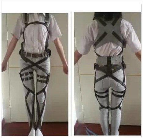 タイタンアニメ新劇のない巨人偵察隊ハーネスベルト Hookshot コスプレ衣装調節可能なベルト