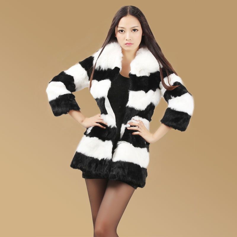 Online Buy Wholesale rabbit fur coats from China rabbit fur coats ...