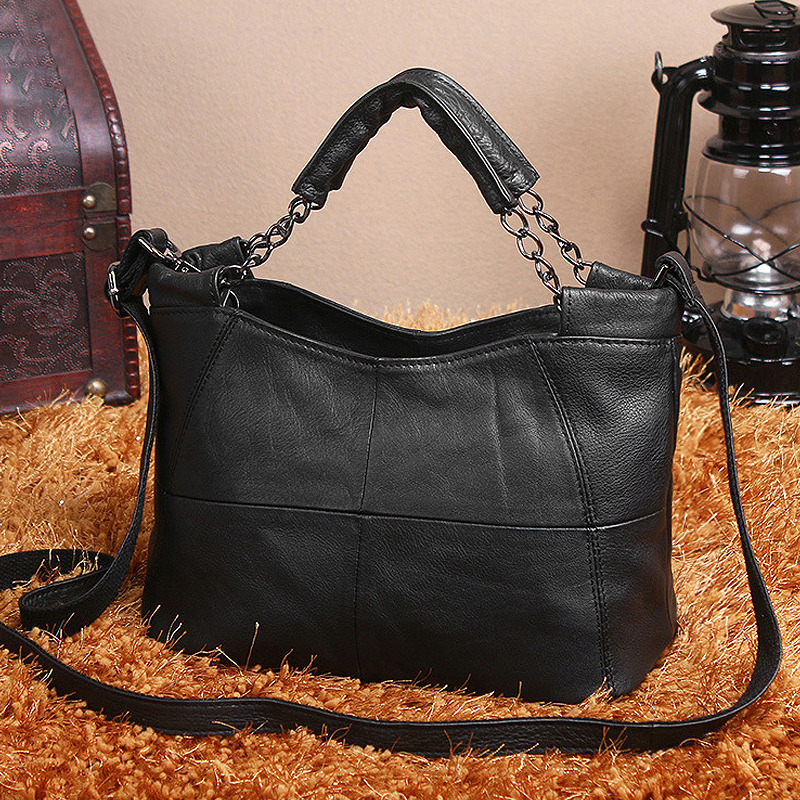 Cobbler Legend Genuine Leather Women Handbags 2019 Brand Bucket Bag Top-handle Famous Designer Totes Soft Shoulder CrossBody Bag