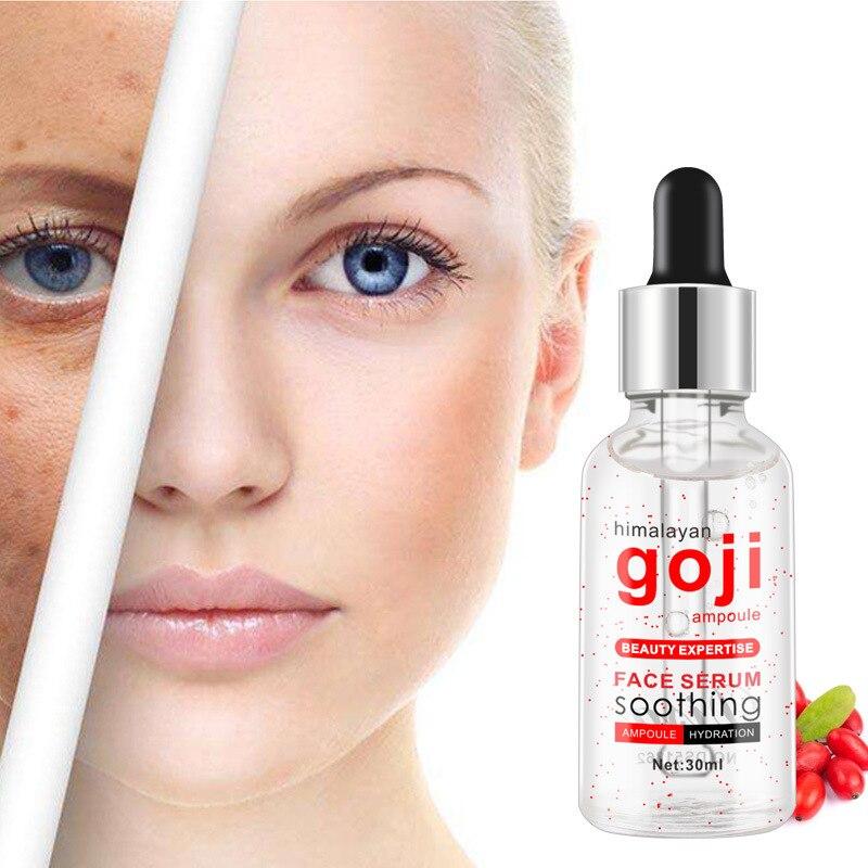 GOJI Hyaluronic Acid Facial Serum Moisturizer Anti Aging Whitening Facial Serum Intensive Lifting Firming Anti Wrinkle Skin Care