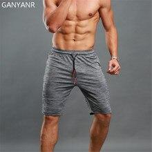 GANYANR-Short de course pour hommes, pantalon court de Sport, pour Tennis, volley-ball, Crossfit pour l'entraînement, le Football