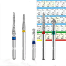 Free shipping 90pcs Good Quality dental diamond bur Dental Materials