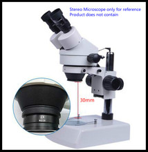 2X Multiplier Lens Stereo Microscope Mounting Thread M48 Wide Field High Point 2X WD30 M48 0