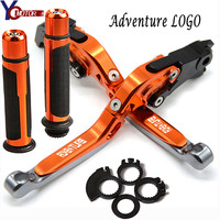FOR KTM Super Adventure 1290 2015 2016 2017 CNC Motorcycle Accessories Brake Clutch Levers Handlebar handle Hand bar grips Ends