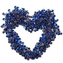Хорошее качество! Капри blue crystal dmc с горячей фиксацией