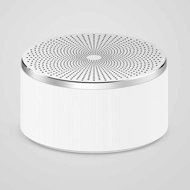 Xiaomi mi estéreo bluetooth speaker mini sem fio portable speakers music mp3 player pequeno som lound juventude branca redonda de aço