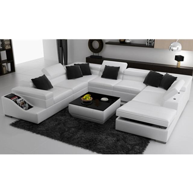 Weiß U form wohnzimmer couch in Weiß U form wohnzimmer couch aus ...