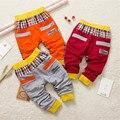 Gato bonito Do Bebê Das Meninas Dos Meninos Harem Pants Crianças calças de Algodão Outono Longo Leggings Infantil Calças Primavera Xadrez Crianças Moda Calças 38C