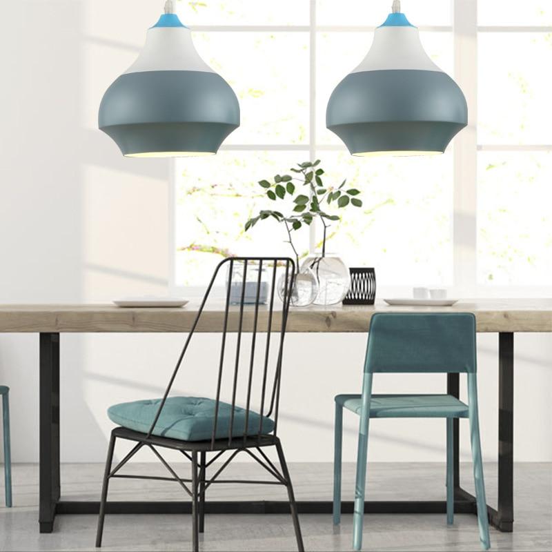Modern Nordic Pendant Light Indoor Hanging Drop Light Contemporary Suspension Pendant Lamp Restaurant Dining Pendant Light (7)