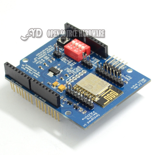 ESP8266 Web Sever serial WiFi expansion board shiled ESP-12E for  uno r3UNO R3
