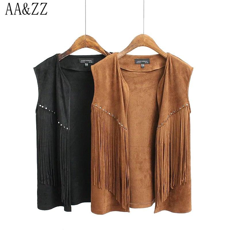 Mantel Outwear Frauen Ausschnitt Fashion Vintage Wildleder V nXPNwO0k8
