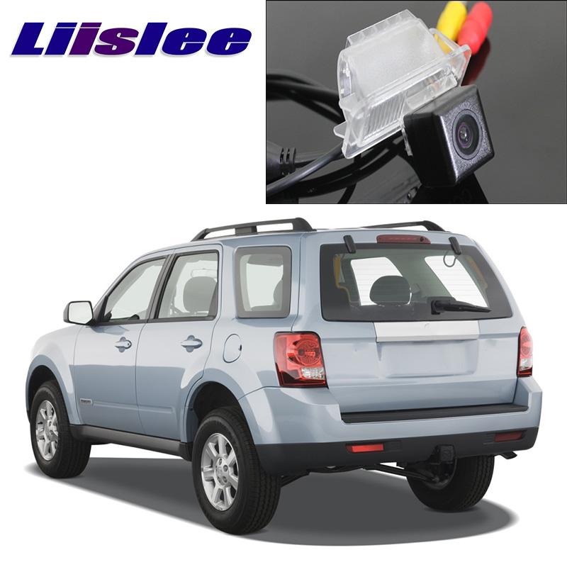 Liislee Car Camera For Mazda Tribute MK2 2008~2012 HD camera automobile rearview imag For Friends to Use  CCD with RCA