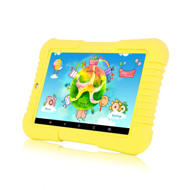 Original iRULU Y3 7″ Babypad 1280*800 IPS A33 Quad Core Android 5.1 Tablet PC 1G/16G GMS Silicone Case Gift for children Hot