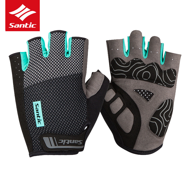 Men Women Cycling Gloves Half Finger Road Bike Cycle Gloves Breathable Anti-shock Sports MTB Bicycle Gloves Guantes Ciclismo