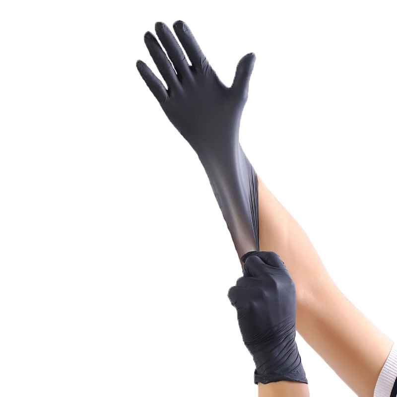 50 to 100pcs Disposable Latex Gloves and Industrial Nitrile Gloves for Medical and Food Industry 5