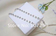 High Quality Gift Wrapping 10yd 3mm A-Grade Rhinestone Silver Diamante Chain Craft