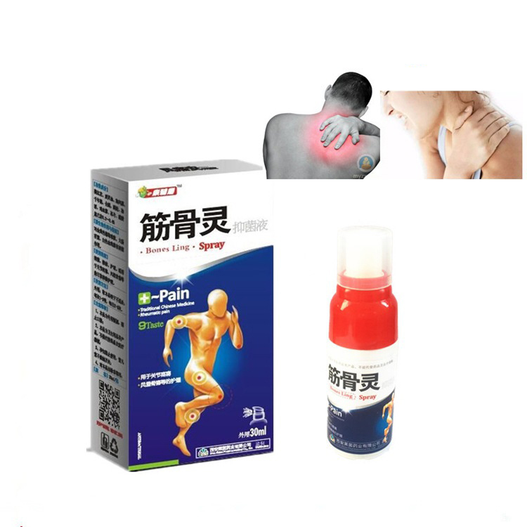 1pc Pain Relief Spray Rheumatism Arthritis Patch Muscle Sprain Knee Waist Pain Back Shoulder Spray Tiger Orthopedic Plaster