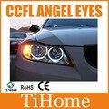 Free envio ccfl angel eyes para bmw e90, e90 não projetor de halo ring, ccfl angeleyes luzes e90