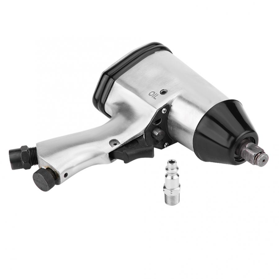 "Oversea 1/2"" Air Pneumatic Impact Wrench Gun Power Drive Removal & Installation Tools W/ US Adapter(China)"
