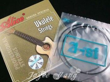 Alice AU02 Black Nylon Ukulele Strings 1st-4th Strings Free Shipping Wholesales