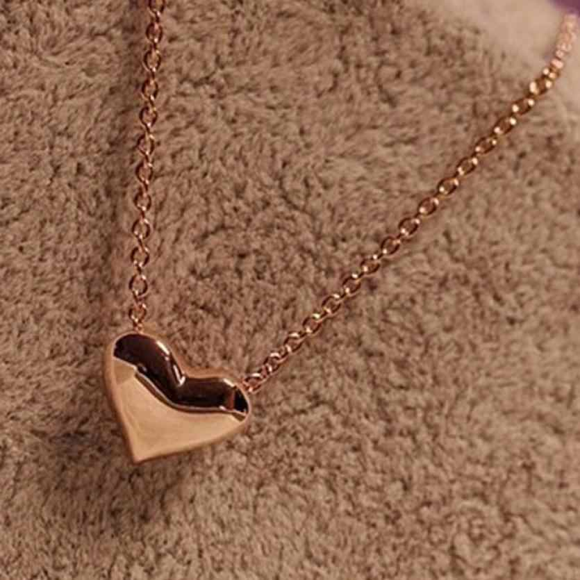 OTOKY  2018 New  Neckless Choker Fashion Women Gold Heart Bib Statement Chain Pendant Necklace Jewelry For gift DropShip Oct.13