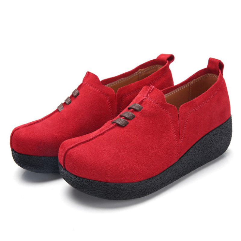 New thick bottom increased one foot female casual rocking shoes student fashion Vulcanize female sneakers shoes in Women 39 s Vulcanize Shoes from Shoes