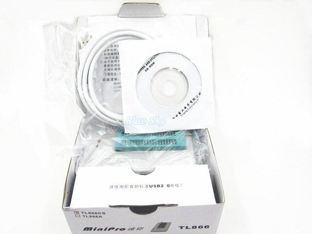 Бесплатная Доставка 1 ШТ. TL866CS TL866 2012 Октябрь Обновлено MiniPro Универсальный Программатор Высокопроизводительные 100% Новый