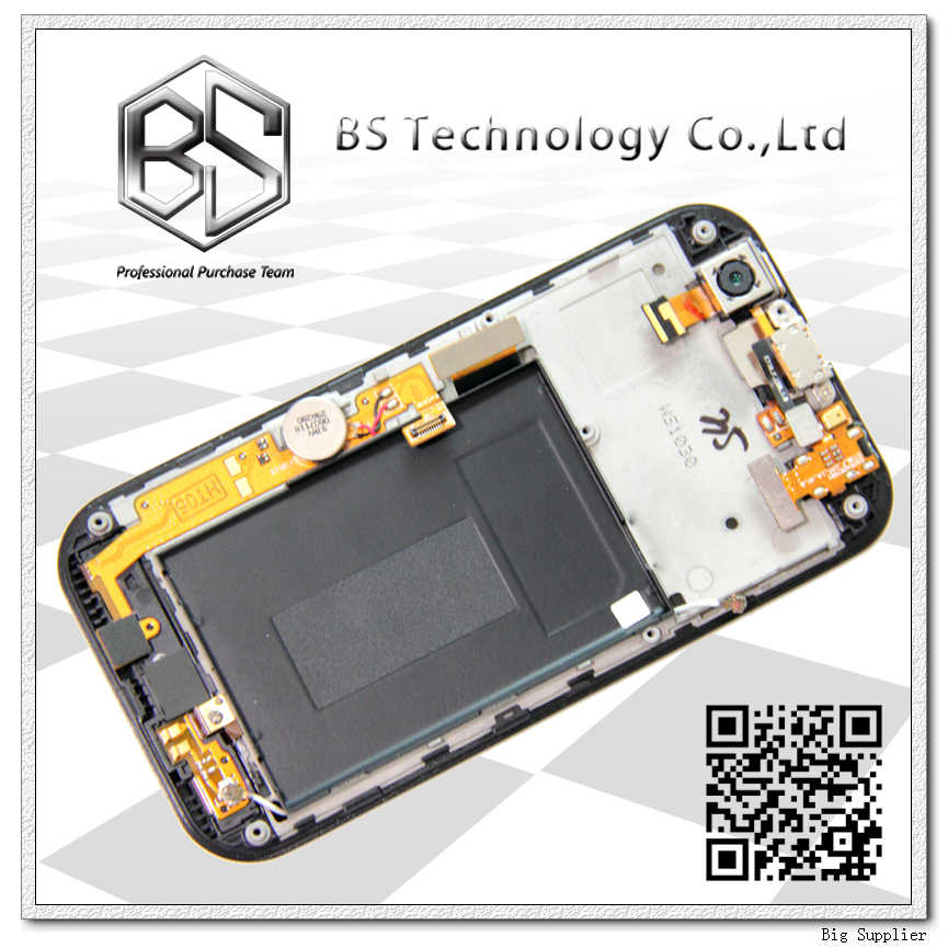ФОТО Original Display Screen LCD Digitizer with Frame Complete Assembly For LG MyTouch Optimus SOL E739 E730 LCD