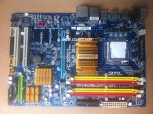 Free shipping Gigabyte P45 motherboard GA-EP45-DS3L UD3L DDR2 memory support quad-core Xeon CPU