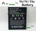 Batería de alta Calidad Para THL T5 100% NUEVO 1950 mAH Reemplazo de La Batería para THL T5S Smartphone En Stock + Tracking número