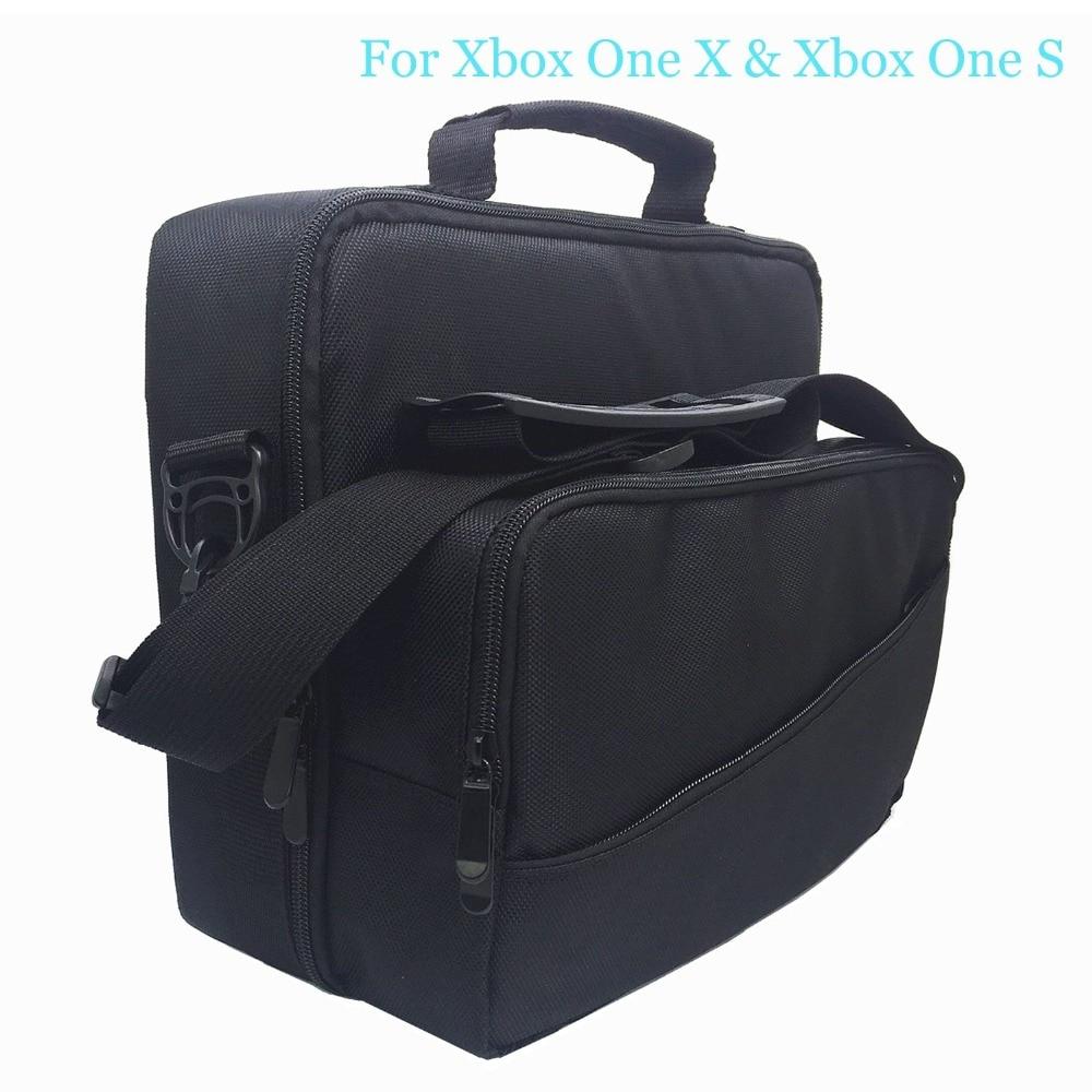 Unterhaltungselektronik Taschen Vornehm Multifunktions Reisen Tragen Tasche Fall Für Xbox One X/s Handtasche Schulter Tasche Mit Gurt Spiel Disc Halter