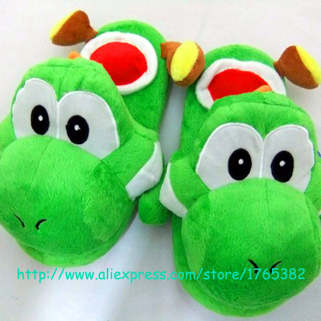 Pantuflas De Mario Bros Animal Dragon Mage Slippers For Boys S House Plush Cotton