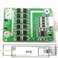4S 12 V Placa de Proteção Da Bateria BMS 50A COM Equilíbrio para 4 Pacotes de Fosfato De Ferro De Lítio LiFePo4 Batterie 200A Peak Motor carro