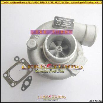 TD04HL 49189-00540 de 8971159720 5I7585 5I7952 Turbo turbocompresor para ISUZU SK120 SK120-1 JCB Industrial varios construcción 4BG1T