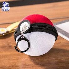 ФОТО elf ball pikachu japan anime monster balls foldable shopping bag/pencil case storage bags key chain comics figure model toy gift