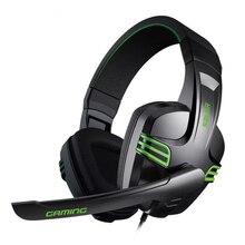 Wired Gaming Headset Graves Profundos Stereo Som Fones de Ouvido Headband Do Video Game com Micphone para PC Gamer fone de ouvido para computador