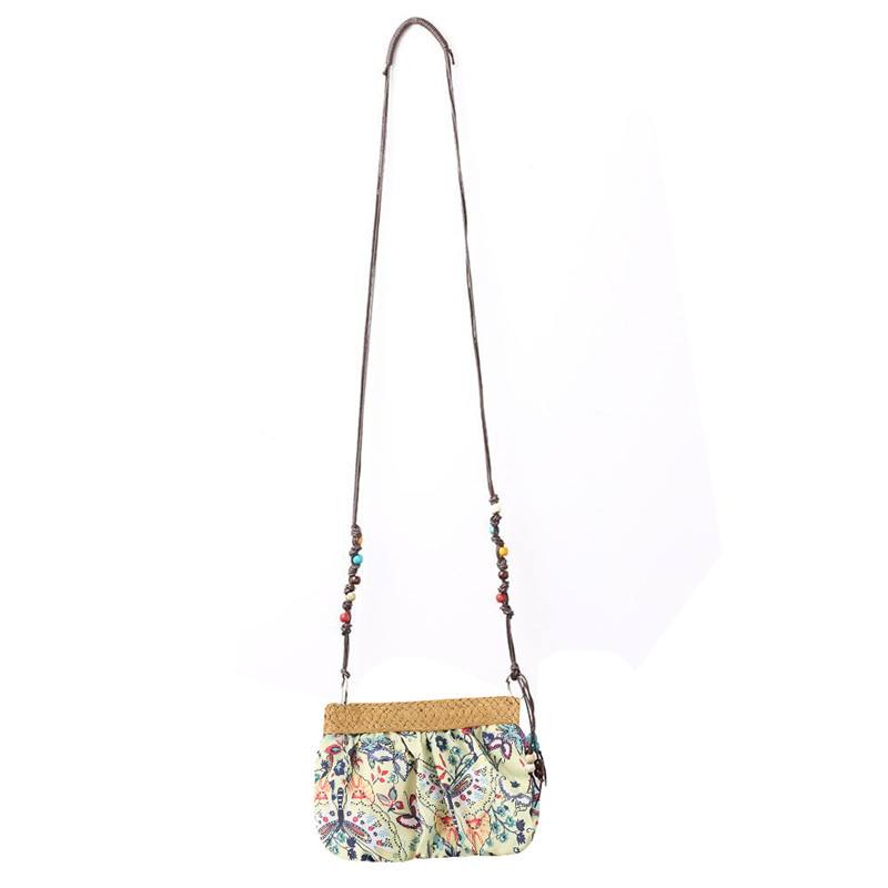 Vintage Ethnic Embroidery Boho Bag Shoulder Crossbody Messenger Bags Women Canvas Small  ...