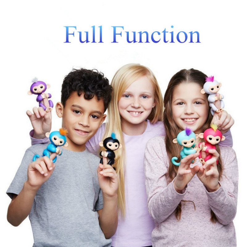 Authentic authorization The Interactive Fingerlings Baby favorite Monkeys for Christmas children birthday Gift Toys