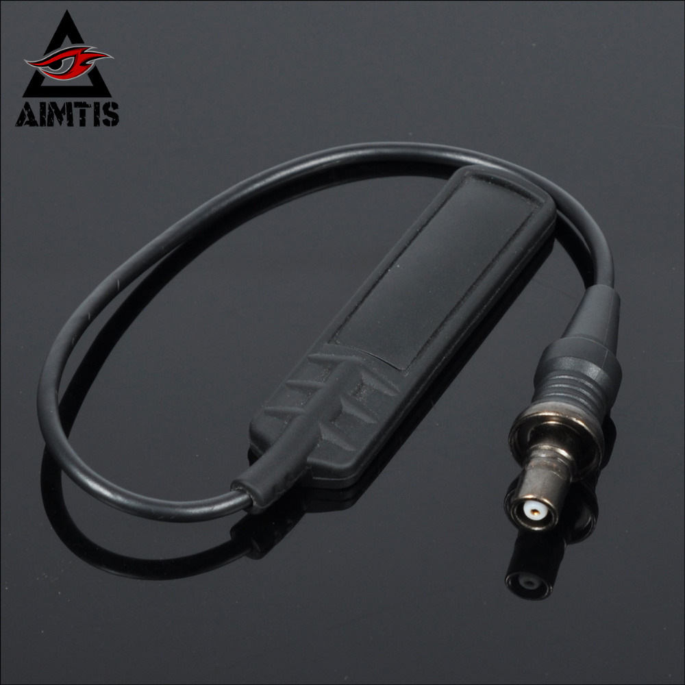 AIMTIS Weapon Light Remote Controller Switch for M300 / M600 / M620V / M951 / M952 Series Tactical Tape Tail Switch