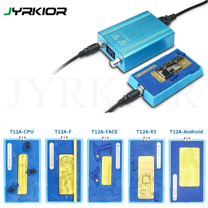 Jyrkior SS T12A For iPhone X XS Max Fingerprint Face ID Repair Motherboard Layered Heating Station