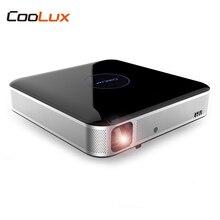 COOLUX S3 DLP Projektor Heimkino 900 ANSI 1280×800 P Unterstützung 4 Karat 2,4/5 GHz WiFi Bluetooth 4,0 Remote fokus