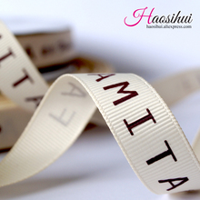 2-1/2(64mm) Customized printed grosgrain ribbon diy wedding accessories party decoration 100yards/lot