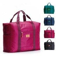 New Fashion Travel Storage Bag Waterproof Nylon Large Capacity Bags Portable Folding Luggage Travel Handbags 3