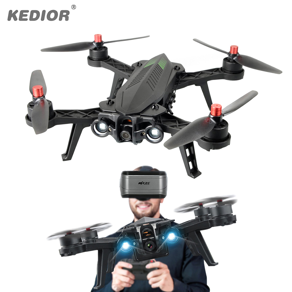 MJX Bugs 6 Professionnel Racing RC Drone avec Caméra HD 720 P FPV Vidéo En Direct Quadcopter RTF KEDIOR X8SW Hero 3