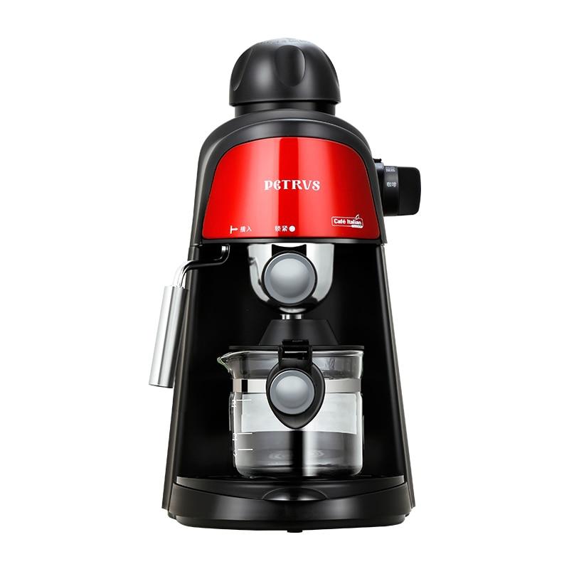 Italian Coffee Machine Household Concentrate Steam Type Semi-automatic Milk Foam 5Bar Insulation Anti-dry цены