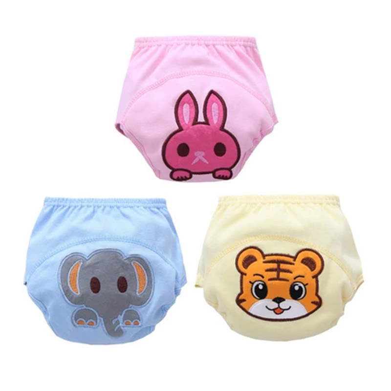 Baby Legging Potty Training Pants Washable Cotton Leakproof Diaper Cover Panties BM88