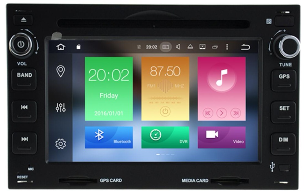 Android 9.0 <font><b>2Din</b></font> 7 <font><b>Inch</b></font> Car DVD Player For VW PASSAT/B5/MK5/GOLF/POLO/TRANSPORTER With Radio FM <font><b>GPS</b></font> Navigation BT 4G LTE WIFI image