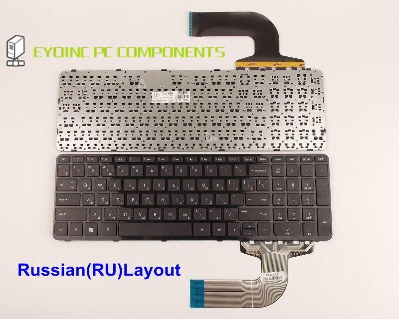 Echte Laptop-tastatur Für HP Pavilion 15-f100dx 15-f111dx 15-f113ca 15-f128ca 15-n048ca Mit Rahmen Russisch RU Version