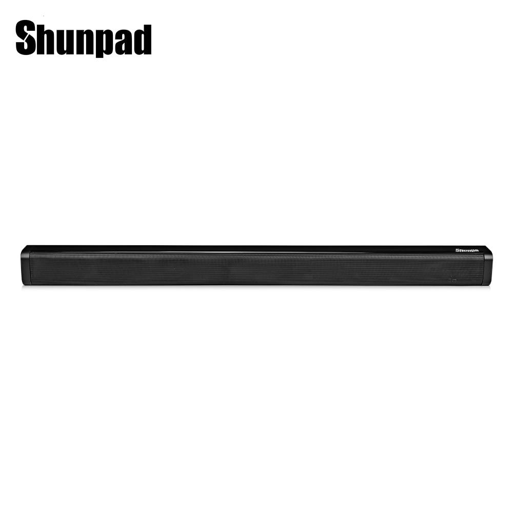 Shunpad N - S09 Soundbar Speaker Television Audio Fiber Coaxial Wireless Bluetooth Subwoofer Sound Portable Home Speaker